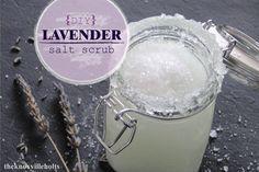 The Knoxville Holts: {DIY} Lavender salt scrub