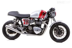 Triumph Thruxton by British Customs