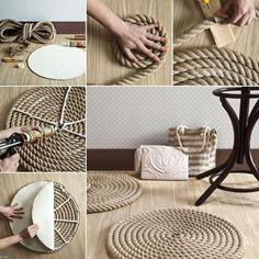 Here are some great DIY projects ideas that will help you get that nautical feel, all the while keeping in touch with trending colors.