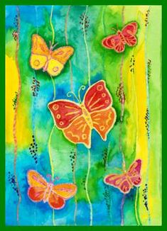 Spring Art Projects, Spring Crafts, Diy And Crafts, Crafts For Kids, Arts And Crafts, Garden Poles, Craft Activities, Christmas Ornaments, School