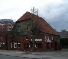 """Ehem. Gaststätte """"Zur Katzbach"""", Borker Str. 80, Abbruch 2008"""