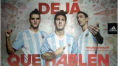 Nueva camiseta de Argentina Copa América Chile 2015