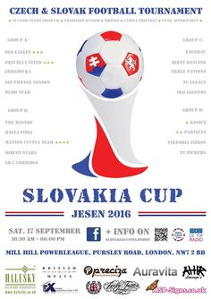 Slovakia Cup closer and closer. Don't forget to join us on September 17 th .