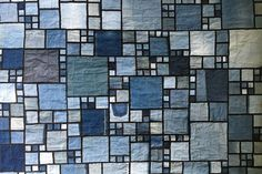 Recycle Your Blue Jeans and Denim Skirts to Make a Quilt