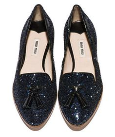 Forget Those Party Pumps: Miu Miu's New Moccasins ARE The Party #iwouldsellmysoulforthesesouls @refinery29
