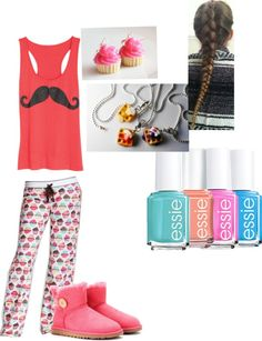 """""""Sleepover with my bestie"""" by egldancer on Polyvore"""
