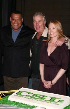 2009 Leaving Party Photo - c/o of The William Petersen Appreciation Page Gallery - billypetersen.com.
