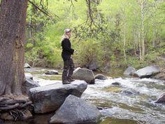 Rock Creek above Tom's Place, near Bishop, California