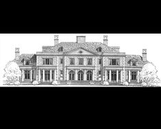 Stephen Fuller Designs - High Style Georgian Manor Drawings