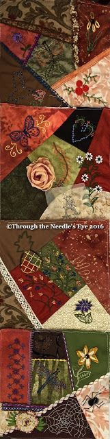 Telling Stories Through the Needle's Eye: The Crazy Quilt Wrap-Up