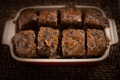 Here's a quick cooking tip from Dad to make a yummy Sticky Toffee Pudding. The recipe uses a shop bought loaf cake and a delicious home made toffee sauce. Homemade Desserts, Delicious Desserts, Toffee Sauce, Sticky Toffee Pudding, Walnut Cake, Wheat Free Recipes, Loaf Cake, Recipe Using, Food Hacks