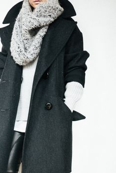 layered up for winter