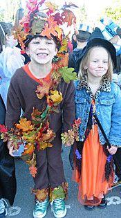 Forest elf/oak tree costume
