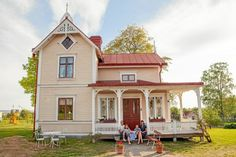 This Old House, Tiny House, Porches, Scandinavian Cottage, Pergola, House Built, House Made, Victorian Homes, Home Fashion