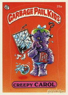Garbage Pail Kids Chrome Series 1 Base Card 25b SCARY CARRIE