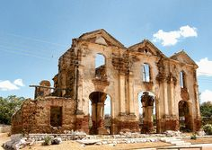 Ruinas, Iglesia Carmen de Cura,Iglesia antigua de la epoca de la colonia, Sur de Aragua,Venezuela