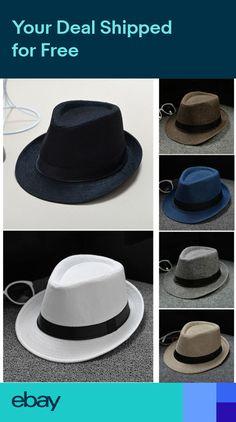 7ce2ecafb32 Fashion Panama Straw Fedora Trilby Cap Summer Travel Brim Wide Mens Ladies  Hat