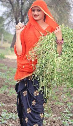 Dehati Girl Photo, Beautiful Girl Indian, Indian Beauty, Indian Actresses, Girl Photos, Desi, Culture, Traditional, Face