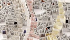 Cartographic Paper Sculptures Reveal Global Cities' History - My Modern Metropolis