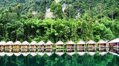 Parc national de Khao Sok en Thaïlande