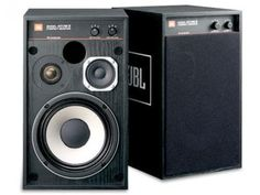 New JBL small monitor speakers black ash  4312M2BK (pair) From japan #JBL