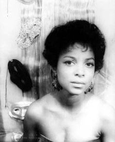 A small but lovely photo of Ruby Dee.