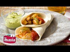 Fajitas de Pollo Mexicanas - Aceites La Masía