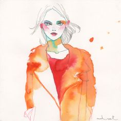 Preen illustrated by Conrad Roset