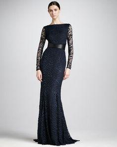 Women's Monique Lhuillier Swirly-Lace...     $5,990.00