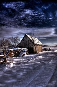 Evening Winter HDR