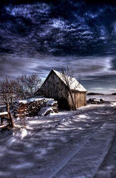 Evening Winter