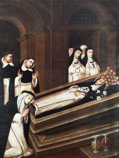 Siena, Santa Ines, Saint Dominic, Post Mortem, Hispanic American, Colonial Art, Sisters In Christ, Catholic Art, Saints