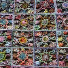 Sophie Digard crochet: Scarf, Bernetta - Selvedge