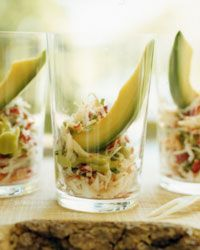 King Crab and Avocado Shooters Recipe on Food & Wine