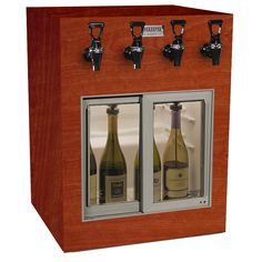 Get more information about our WineKeeper Monterey 4 Bottle (Mahogany) Only at IWA Wine Accessories! Wine Dispenser, Wine Rack, 2d, Website, Bottle, Storage, Accessories, Furniture, Home Decor