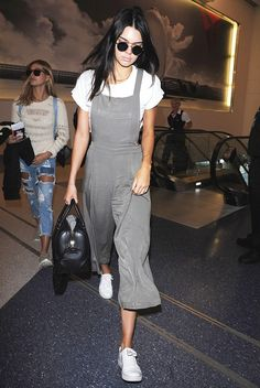 The $28 Forever 21 Overalls Kendall Jenner Loves via @WhoWhatWear