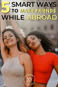If you're planning to mobve abroad, you may be nervous about making friends. This guide breaks down 5 ways to make friends abroad you may not know about. International Friends, International Travel Tips, Visit Colombia, Local Dating, Moving Overseas, Single Travel, Meet Locals, Singles Events, Best Travel Guides