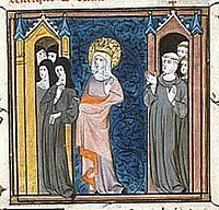 Balthild (d.680/681) Regent of Burgundy and Neustria, 655-664 for her son, Chlotar III who was only about 6 years old when his father, Clovis II, died.