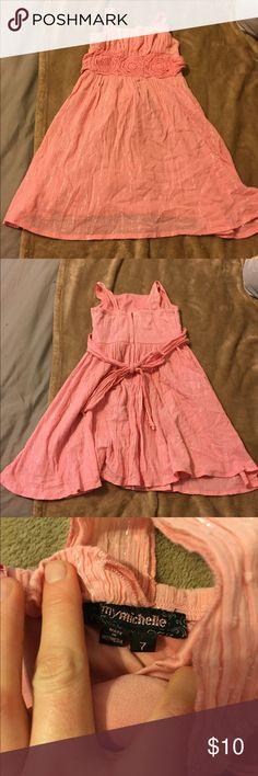 👗Little👗Girl👗Dress👗 Little Girl light pink dress size 7. My Michelle Dresses