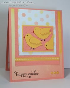 Delightful Dozen - Stampin' Up! - Stamp With Amy K - Happy Easter