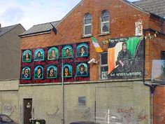 JEN - This is the image for the stage R section of the wall. Mural from the Falls Road area of Belfast
