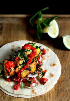 Vietnamese fish taco
