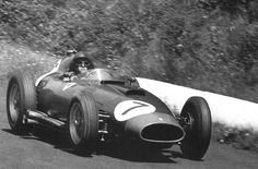 Peter Collins in a Ferrari 801 at the Nurburgring in 1957