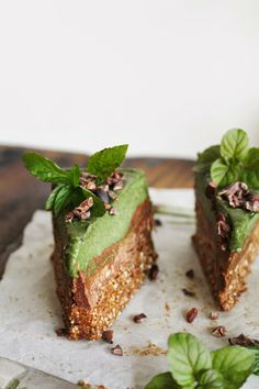 This Rawsome Vegan Life: MINTY GREEN CHOCOLATE CREAM BARS + A LITTLE HEARTBREAK