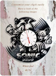 "AC//DC NOVELTY WALL CLOCK 7/"" Stunning New Design BON"