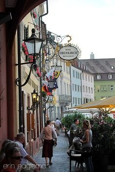 Freiburg Germany.  Great little town, cobblestone streets.  I wish I could have stayed longer