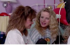 Amanda Peterson and Darcy DeMoss in Can't Buy Me Love 1987.