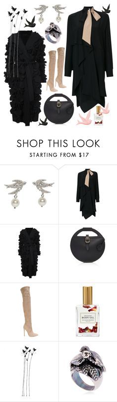 """Sparrow"" by waltos ❤ liked on Polyvore featuring Miu Miu, Fendi, Paskal, Gianni Renzi, Mullein & Sparrow and Montevertine Decori"