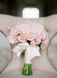 Classic Washington DC Wedding Kristen Garden Photography Pink Bridal Bouquet 275x376 Sophisticated and Romantic Wedding Ceremony in Washington DC: Elizabeth + Paul