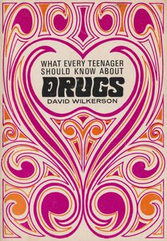 What Every Teenager Should Know About Drugs, cover book cover Psychedelic Typography, Psychedelic Art, Every Teenagers, Typographie Logo, Hippie Art, Hippie Life, Cool Art Projects, Motif Floral, Retro Aesthetic
